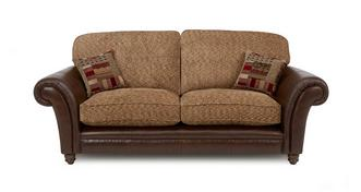 Santiago 3 Seater Formal Back Sofa