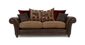 Santiago 3 Seater Pillow Back  Sofa