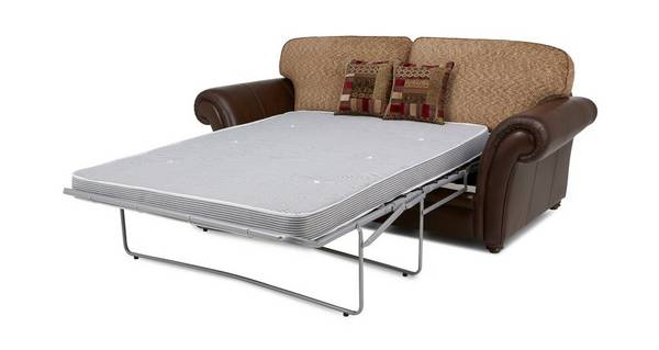 Santiago 3 Seater Formal Back Sofa Bed