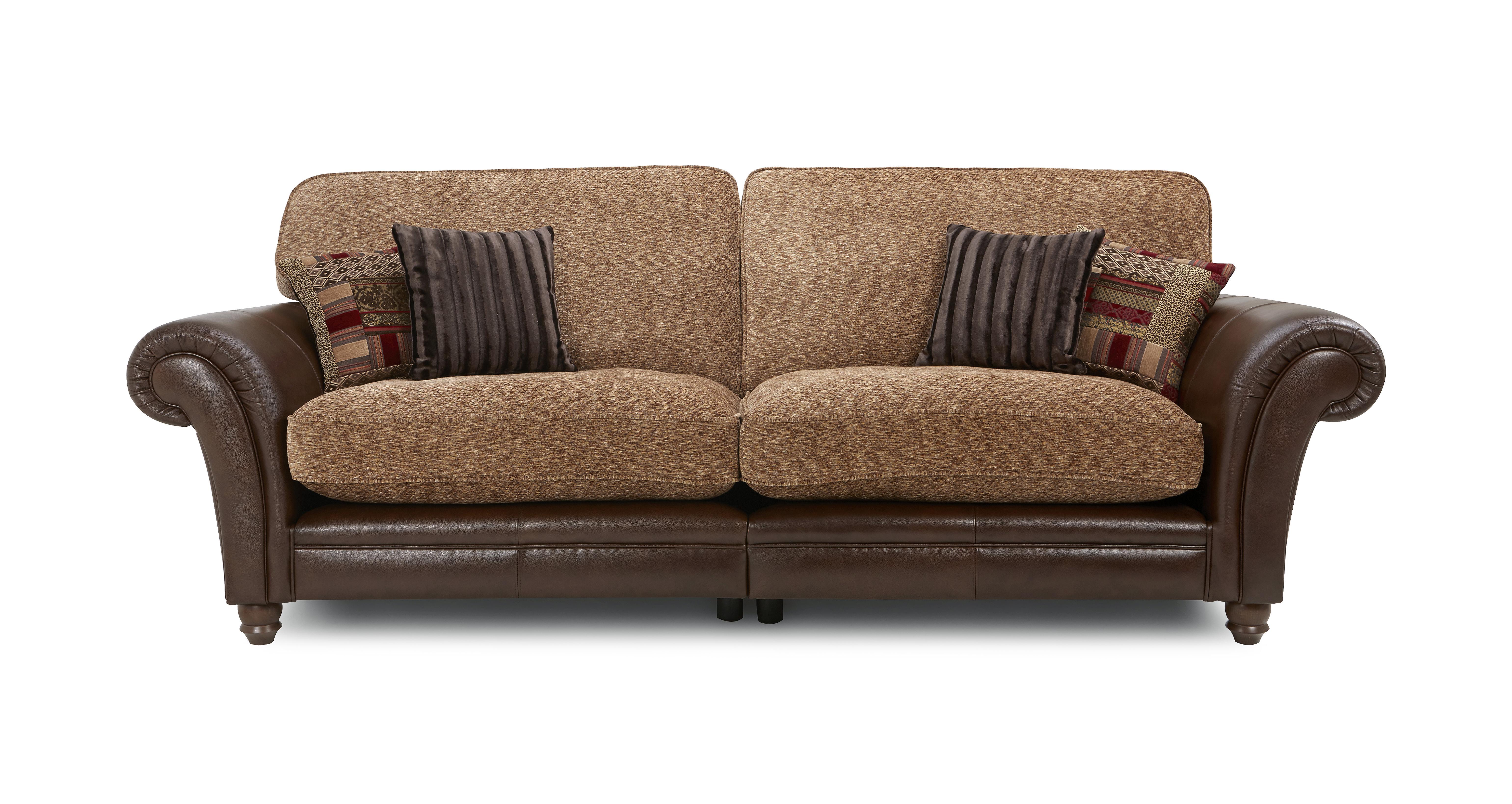 GXD UK Santiago 4 Seater Formal Back Split Sofa