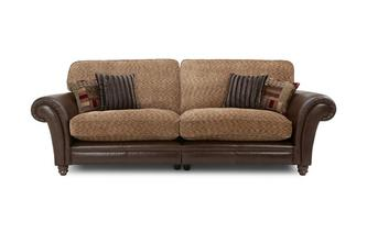 4 Seater Formal Back Split Sofa