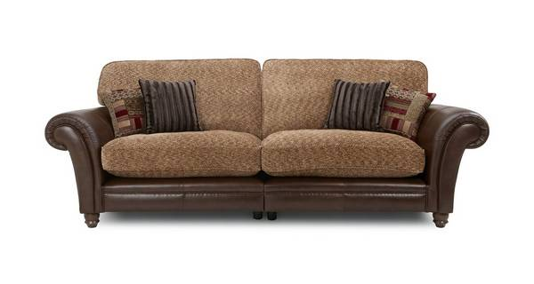 Santiago 4 Seater Formal Back Split Sofa