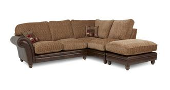 Santiago Left Hand Facing 3 Piece Formal Back Corner Sofa