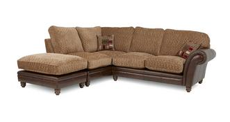 Santiago Right Hand Facing 3 Piece Formal Back Corner Sofa