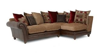 Santiago Left Hand Facing 2 Piece Pillow Back Corner Sofa