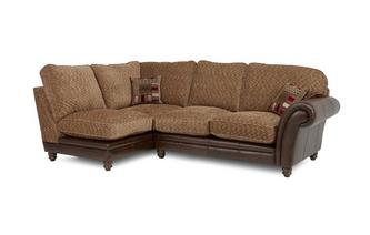 Right Hand Facing 2 Piece Formal Back Corner Sofa Santiago