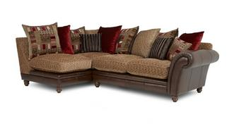 Santiago Right Hand Facing 2 Piece Pillow Back Corner Sofa