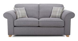 Sasha 2 Seater Formal Back Sofa Bed