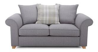 Sasha 2 Seater Pillow Back Sofa Bed