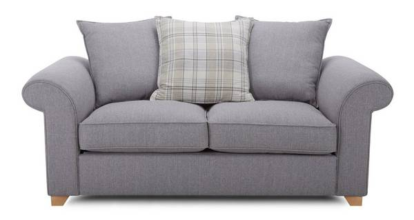 Sasha 2 Seater Pillow Back Sofa Bed