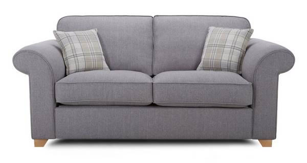 Sasha 2 Seater Formal Back Deluxe Sofa Bed