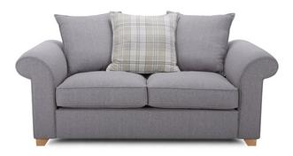 Sasha 2 Seater Pillow Back Deluxe Sofa Bed