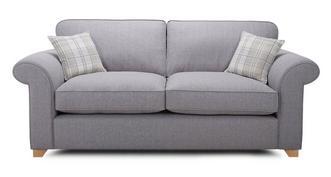Sasha 3 Seater Formal Back Sofa