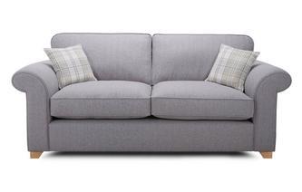 3 Seater Formal Back Sofa Bed Rupert