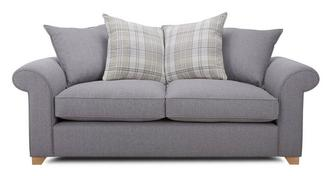 Sasha 3 Seater Pillow Back Sofa Bed