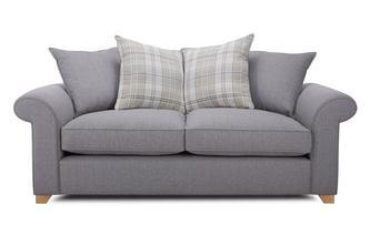3 Seater Pillow Back Sofa Bed Rupert