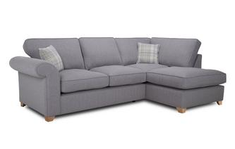 Left Arm Facing Formal Back Corner Sofa Bed