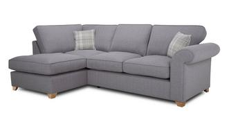 Sasha Right Arm Facing Formal Back Deluxe Corner Sofa Bed