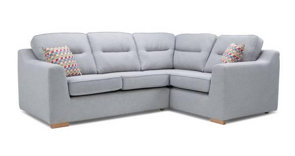 Sasta Left Hand Facing 2 Seater Corner Sofa