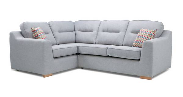 Sasta Right Hand Facing 2 Seater Corner Sofa