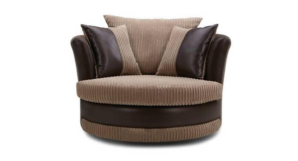 Saxon Large Swivel Chair