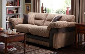 Saxon Large 2 Seater Sofa Bed Samson