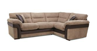 Saxon Left Hand Facing Arm 2 Piece Corner Sofa