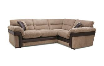 Left Hand Facing Arm 2 Piece Corner Sofa