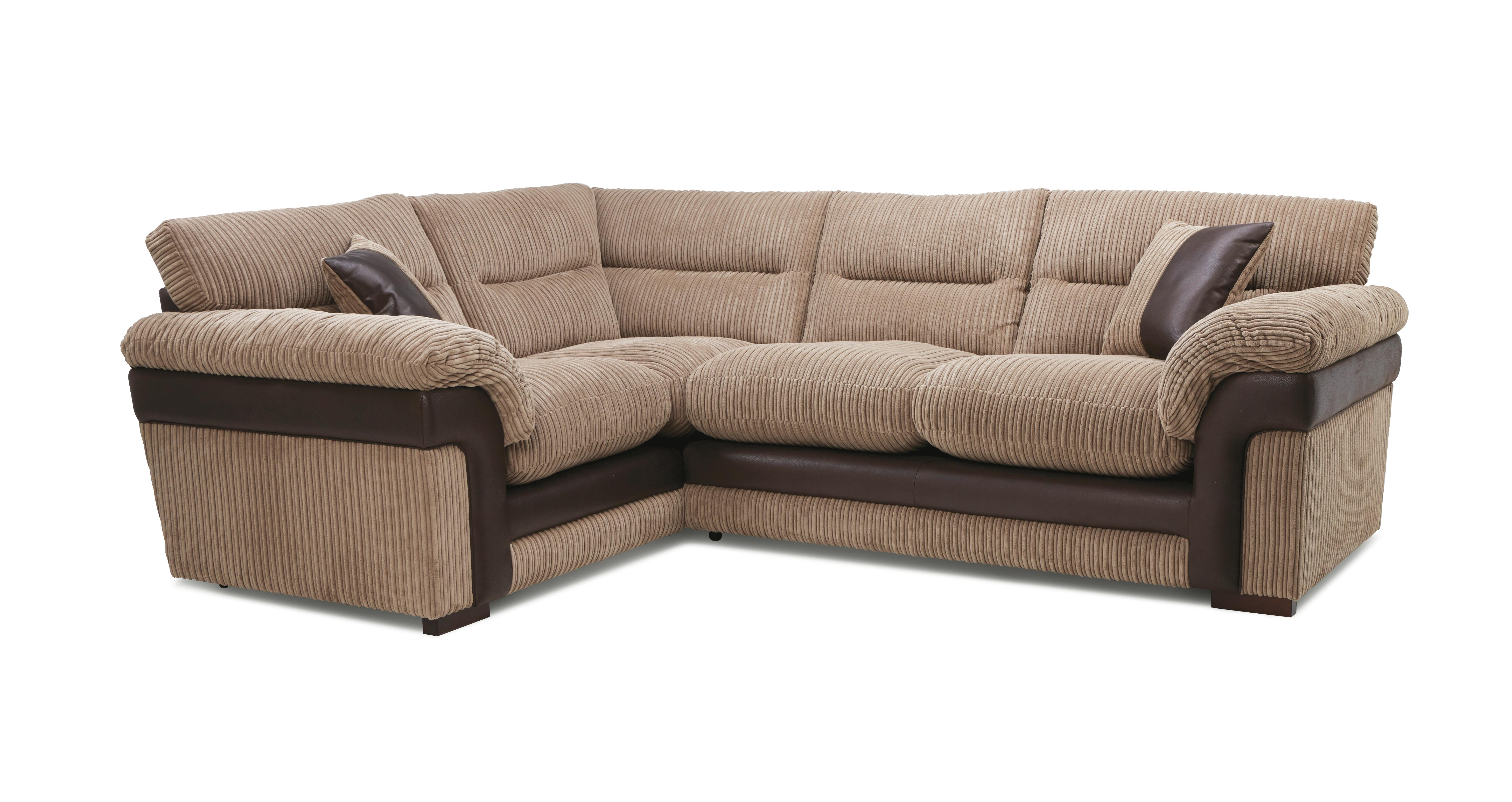 Saxon right hand facing arm 2 piece corner sofa samson dfs for Sofa 0 finance