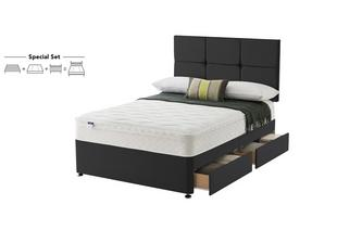 Super King 4 Drawer Set Cushion Top Semer