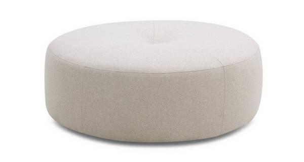 Sentosa Plain Round Footstool