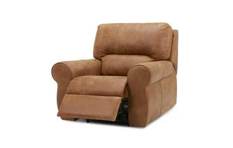 Handbediende recliner stoel Saddle