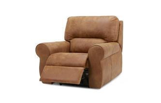 Handbediende recliner stoel