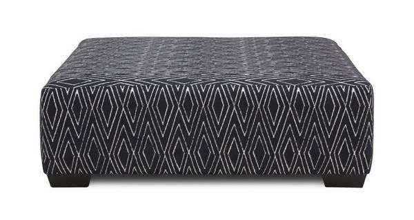 Serengeti Geo Pattern Large Footstool