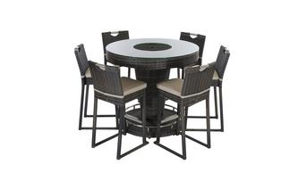 6 Seater Bar Set with Ice Bucket