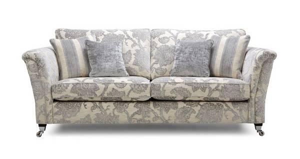Shackleton Floral 4 Seater Sofa