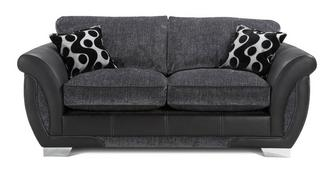 Shannon Large 2 Seater Formal Back Deluxe Sofa Bed
