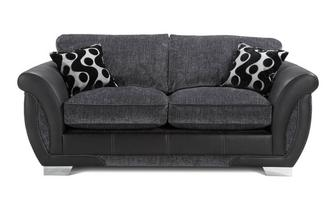Large 2 Seater Formal Back Deluxe Sofa Bed Talia