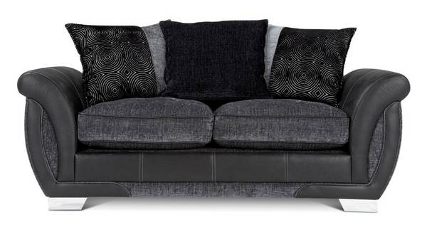 Shannon Large 2 Seater Pillow Back Sofa