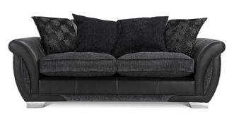 Shannon 3 Seater Pillow Back Sofa