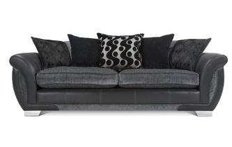 4 Seater Pillow Back Sofa Talia