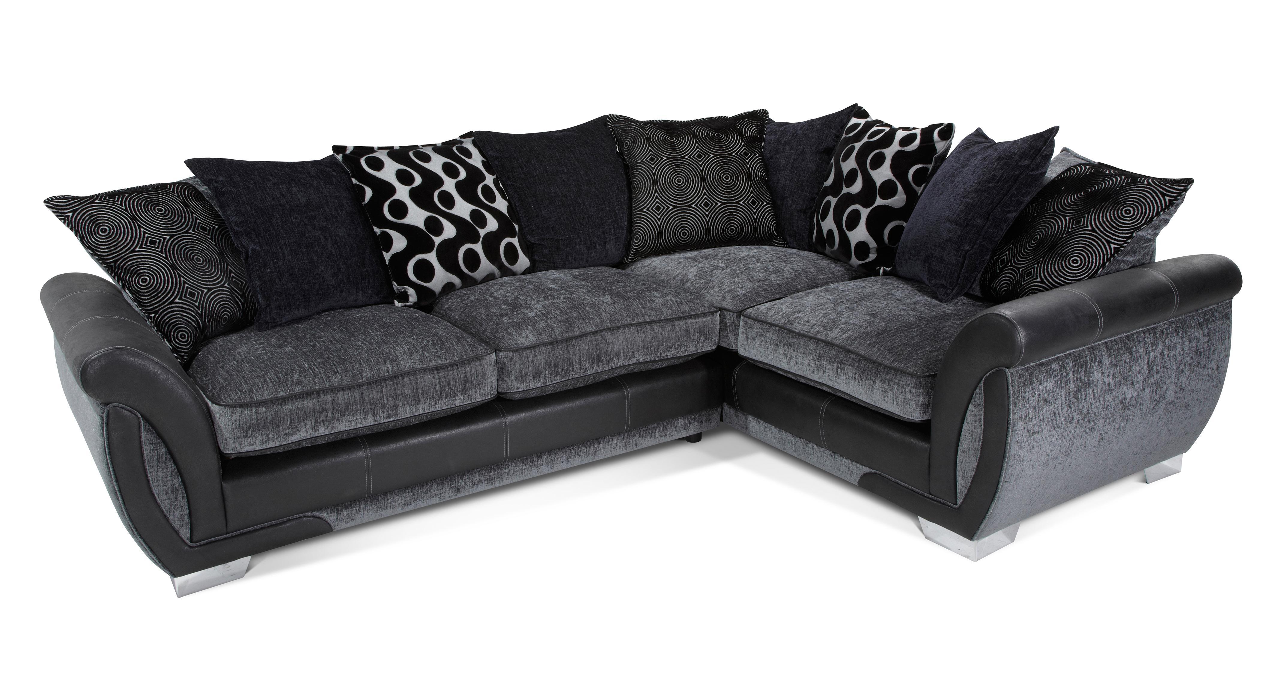 Groovy Dfs Dark Grey Corner Sofa Redglobalmx Org Squirreltailoven Fun Painted Chair Ideas Images Squirreltailovenorg