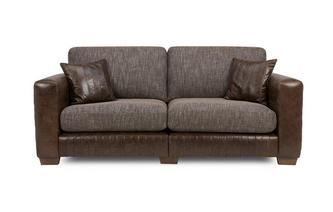 3 Seater Split Formal Back Sofa