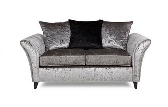2 Seater Pillow Back Deluxe Sofabed