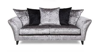 Shine 3 Seater Pillow Back Sofa
