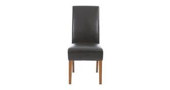 Shiraz Ariana Dark Leg stoel