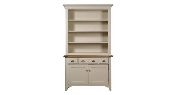 Shore Small Sideboard & Hutch with 2 Doors and 3 Drawers