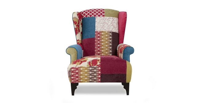 shout small high back wing chair