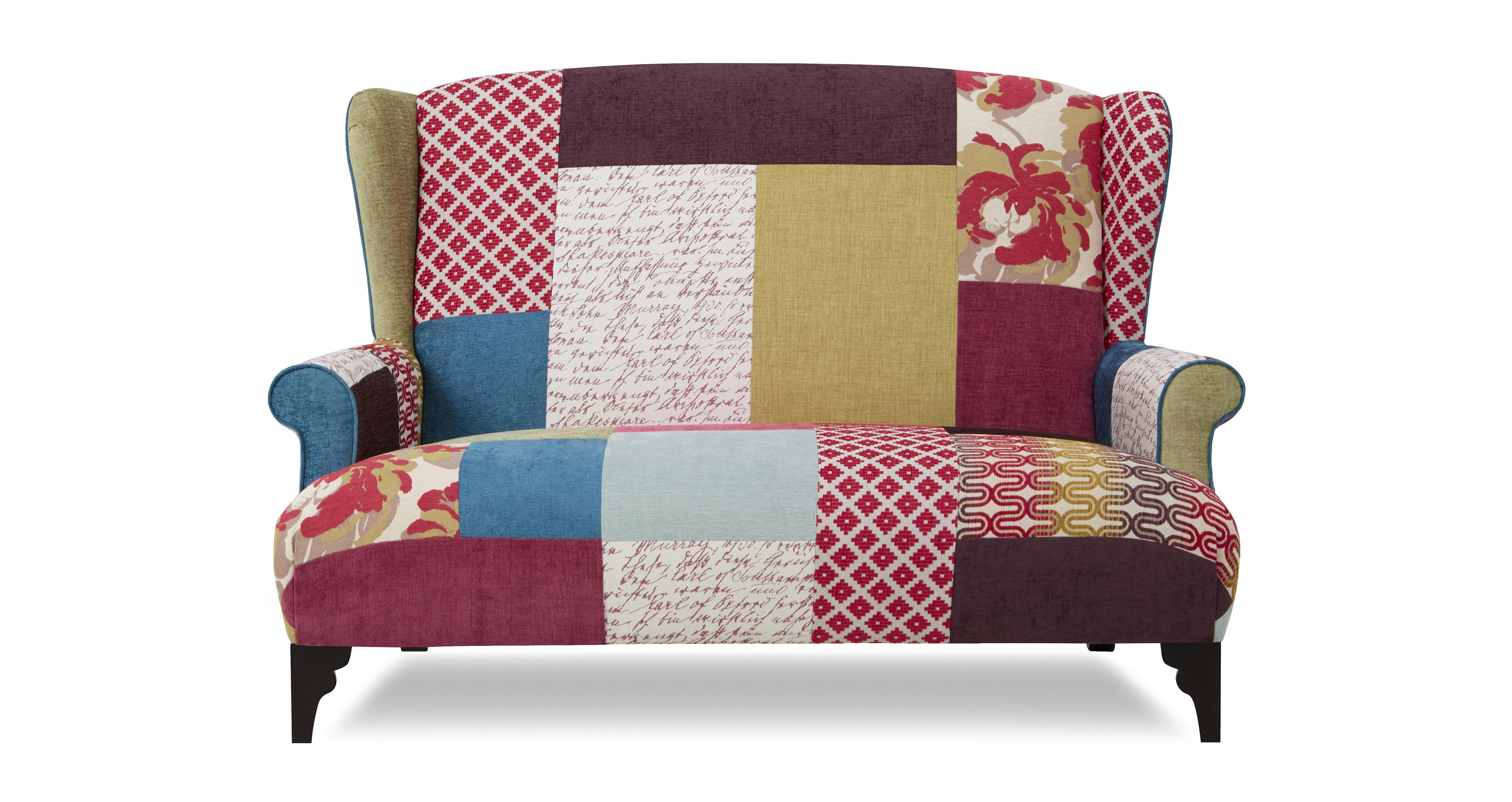 Patchwork sofa dfs for Patchwork couch