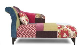 Right Hand Facing Chaise Longue Shout Patchwork